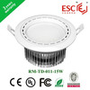 Hallway roof LED Downlights adjustable SMD5730 ceiling lights 15w 125mm hole size CE DRIVER