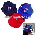 vente chaude pour animaux de compagnie casquettes de baseball pour les chiens