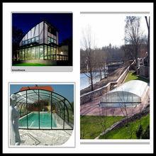greenhouse solar panel plastic swimming pools