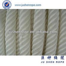 3 Strand Pre-shrunk Polyester Rope Manufacture Custom OEM/fishing vessel rope