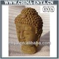 Testa della statua buddha, buddha decorazione