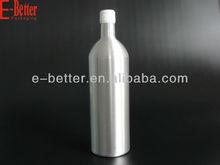 Wholesale 1000ml,500ml 250ml top grade drink ,wine,fruit juice,beverage, food oil aluminium metal bottle