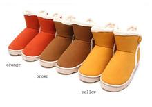 #051 2014 Winter cheap super warm women snow boot three colors