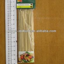 75pcs 30cmX3mm High quality BBQ dried Bamboo Skewer