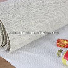 For painter medium texture 513gsm acrylic based wholesale artist linen canvas roll