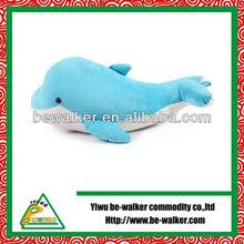 Popular high qulity dolphin plush baby cushion
