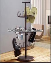 3 tier 18 pairs plastic adjustable shoe tree