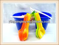 Kids summer sand beach toys funny plastic beach bucket