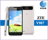 """Wholesale ZTE V987 MT6589 Quad Core Dual Sim 5.0"""" Android V4.1 1280X720 8.0MP WCDMA GSM ROOT Bluetooth Wi-Fi mobile phone"""