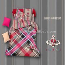 3d world famous brand 4pcs bed sheet 100%cotton
