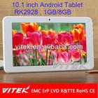Top quality 10.1'' Cheap wifi corona tablet