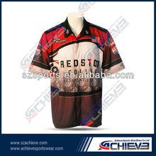 Free design race team sports jerseys manufacture