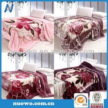 Hot selling acrylic queen blanket
