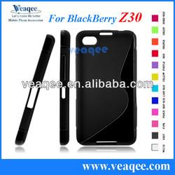 S line cheap mobile phone cases for blackberry Z30