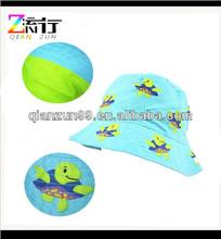 Kid boy girl child cotton beach travel sun hats bucket caps
