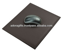 ADAPMP - 0012 multifunction mouse pad design / genuine leather mouse pad for gift / leather mouse pad material