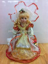 lindo lindo atacado vestir meninas cute bonecos de cerâmica