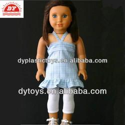 ICTI certificated custom make speaking american little girl doll models factory