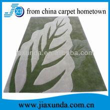 Handmade modern acrylic vinyl carpet runner