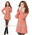 Asiatique coréens, style mode femme manteaux d'hiver manteaux 2013