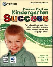 PreSchool, Pre-K, Kindergarten Success