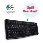 Logitech Keyboard K120 - Spill-Resistant Durable Design