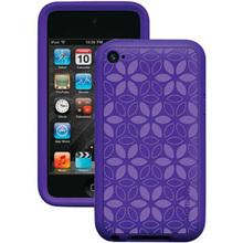 XtremeMac iPod Touch 4G Tuffwrap Tatu Skin Case - IPT-TT4-33 - Purple