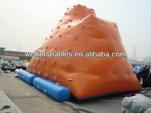 2014 new funny beach inflatable iceberg climbing wall/ inflatable floating iceberg