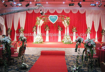 out door wedding square tent with portable pipe and drape easy to install