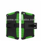 for ipad mini 2, hard plastic & soft silicone case with cheap price