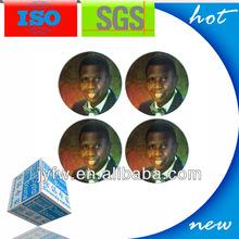 2013 design good quality PET adhesive label sticker