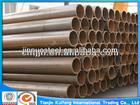 carbon black steel pipe welded tube dimensions