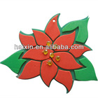 Christmas decor eva foam flower decor