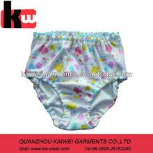 Lovely 100 cotton fancy little girls panties for Japanese market