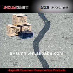 TE-I rubberized driveway crack sealant