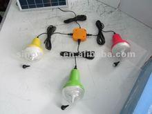 Portable solar home lighting system 5W solar lighting kits