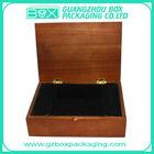 Custom-made wood presentation box