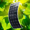 120W flexible solar module,flexible monocrystalline Silicon