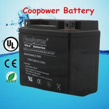 12N5-BS(12V5AH) ShenZhen motorcycle battery 12v5ah/Rechargeable lead acid battery 5ah 12v / Motorcycle parts