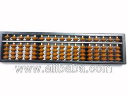 student abacus soroban - brown bead