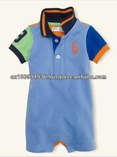 Girl's romper, cute boy's romper, Polo jumper,MR-403