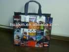 fashion laminationed non woven bag for shopping