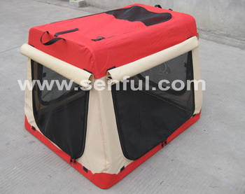 2014 Good Quality Pet Carrying Bag Dog Soft Crate