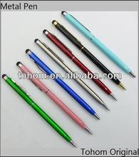 High quality promotion retractable metal pen,roller metal pen