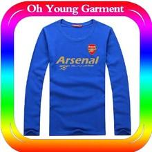 Custom Dry Fit FA Premier League Men's Soccer T-shirt ,Superior Quality,Cheap peice wholesalt t-shirt