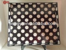 Classical design plastic tray