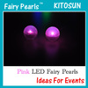 FAIRY LED BERRIES Glowing Ball Party Wedding Light Decoration Floral, Pink Color
