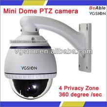 "3.5"" Mini Vandalproof PTZ Analog Camera"