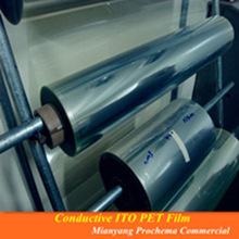 50 ohm ITO PET film for LED Film and Glass decoration