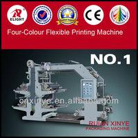 Four Color Flexographic Printing Press, 4 Color Flexible Printing Machine,Flexographic printing press